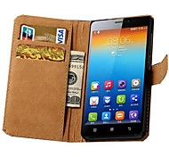 Genuine Leather Case with Card Slots for Lenovo S850