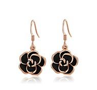Earring Crystal Flower Drop Earrings Jewelry Birthstones