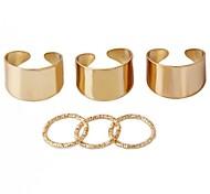 sol seis peças anéis de mestrado