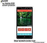 High Transparency HD LCD Screen Protector for Nokia 830