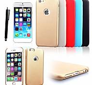 karzea ™ Retro-Muster PU-Leder Ganzkörper-schlanken Gehäuse mit Stift + Schutzfolie für iPhone 6 (verschiedene Farben)