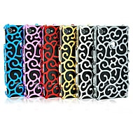 Court Flower Hollow Out Mobile Phone Protection Shell for iPhone 4/4S (Assorted Colors)