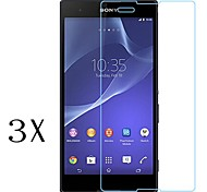 [3-Pack]Professional High Transparency LCD Crystal Clear Screen Protector for Sony Xperia T3