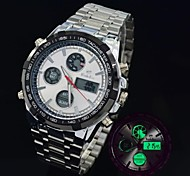 Men's Casual Watch 30M Waterproof Multifunctional LED Analog Digital Military Watches Sports Watch (Assorted Colors)