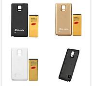 minismile ™ Ersatz 3.85v 8000mah Batterie mit rückseitiger Abdeckung Set für Samsung-Galaxieanmerkung 4 / n9100 (farblich sortiert)