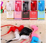 Headphone 3.5mm In Ear with Microphone Volume Control For iPhone5/6 and Others