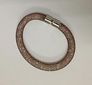 Magnetic Shamballa Magnetic Clasp Crystal in Net Bracelets Stardust Bracelet