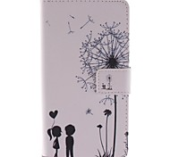 Dandelion PU Leather Case Cover with Stand and Card Slot for Sony Xperia Z3 D6603 D6653