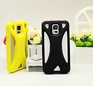 Нет питания физическое громкоговоритель мобильный телефон оболочка для Samsung Galaxy S5 i9600 (разные цвета)