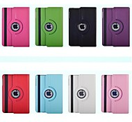 Solid Color PU automatic sleep and wake with the rotating protective sleeve for IPad 2/3/4(Assorted Colors)