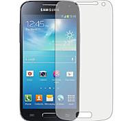 protector de pantalla transparente hd df 3pcs para el mini samsung s4