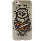 Unique Owl Design Hard Case for iPhone 6 Plus