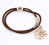 Boutique Fashion Classic Rose Shape Hair Ties