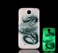 Ram Pattern Glow in the Dark Hard Case for Samsung Galaxy S4 Mini I9190