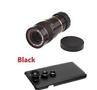 / Ángulo de la lente de ojo de pez / gran teleobjetivo 8x&kit lente macro con la caja trasera para Samsung Galaxy Note 3 (color clasificado)