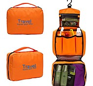 Travel Bag/Wash Storage Bag/Toilet Kit-Black/Blue/Red/Pink/Green/Orange-Oxford-Portable/Folding/Zipper