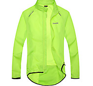 SANTIC Bicicleta/Ciclismo Chaqueta / Impermeable/Poncho / Ropa para Protegerse del Sol Mujer / Hombres / Unisex Mangas largasImpermeable