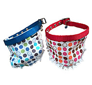 Semicircle Scarf Collar with Small Bell for Pets Dogs