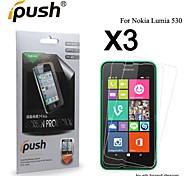 Protector de pantalla mate lcd alta transparencia para Nokia 530 (3 piezas)