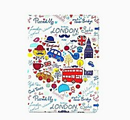 Cute Painted CarsTablet Protect Case with Stand for iPad Air 2