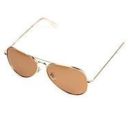 Sunglasses Men / Women / Unisex's Classic / Retro/Vintage / Sports / Aviator / Polarized Flyer Coffee / Light Blue / Blue Sunglasses