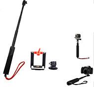 3-in-1 einstellbare Hand Selfie Einbeinstativ für Kamera / Mobiltelefon / GOPRO HERO 2/3/3 +
