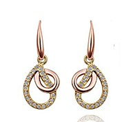 New Style Fashion Irregular Leaf Dangle Eardrop