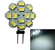 Focos LED G4 3W 12 SMD 5630 250-270LM LM Blanco Natural DC 12 V