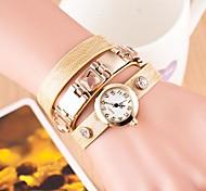 SHANGFEI™ Women's Fashion Round Dial Bracelet Watch(Assorted Colors)