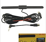 BO-0017 Car VHF-H/UHF Digital TV Active antenna Booster Aerial
