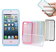 XUNDD Grind Arenaceous Candy Color Hard Back Cover for iPhone5/5S(Assorted Color)
