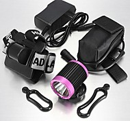 LT-913055 3Mode CREE XM-L T6 Bike LED Headlamp(2000LM.4X18650.Multicolor)