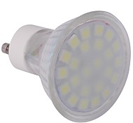 4W GU10 Spot LED MR16 24 SMD 5050 360 lm Blanc Froid AC 100-240 V