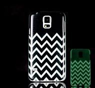 Aztec Pattern Glow in the Dark Hard Case for Samsung Galaxy S5 I9600