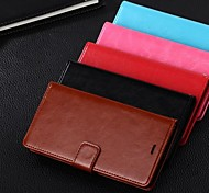 Dengpin PU Leather Wallet Style Flip Stand Mobile Phone Case Cover with Card Slot for XIAOMI 4 M4 Mi4 (Assorted Colors)