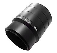 anillo adaptador para Olympus SP550 / 560 anillo de tubo de 58mm lente metal uv verde tapa de la lente campana