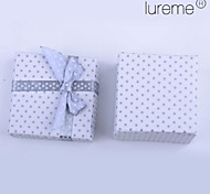 Lureme®Paper Made Bowknot Spots Cube Gift Box(Assorted Colors)
