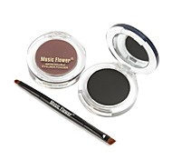 Brown and Black Eyebrow Powder
