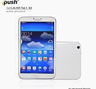 hoge transparantie matte lcd screen protector voor de Samsung Galaxy Tab 3 8-inch