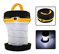 LED Outdoor Camping Folding Mini Portable Emergency Lamp(Random color)