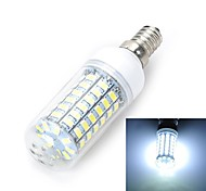 E14/E27 12W 1200LM 69-5730 SMD Warm/Cool White Light LED Corn Bulb (AC 220~240V)