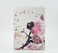 tableta chica mariposa protege la caja con soporte para iPad de aire 2