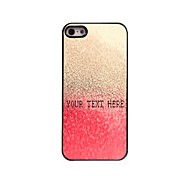 Personalized Phone Case - Red Drop of Water Design Metal Case for iPhone 5/5S