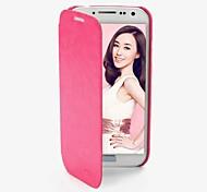 promotion huit yl étuis en cuir série de téléphone pour samsung i9500 de la (couleurs assorties)