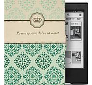 Natusun Imperial Crown Patterns Folio Leather Cover for Amazon New Kindle/Kindle 7th Gen