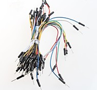 breadboard cable adaptador de cable (65pcs)