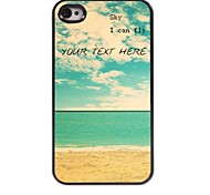 Personalized Phone Case - Sky I Can Fly Design Metal Case for iPhone 4/4S