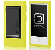 Nano 7 Gen Hipster New TPU Case with Belt Clip Skin Cover for Apple iPod(Assorted Colors)