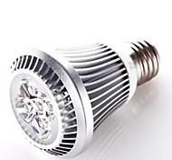 Everbrite E26/E27 6 W 5 High Power LED 420 LM Warm White PAR Decorative Spot Lights AC 100-240 V