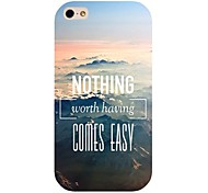 Mountain Top Pattern Back Case for iphone 4/4S